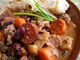 Klobásky-nejen s fazolemi recept