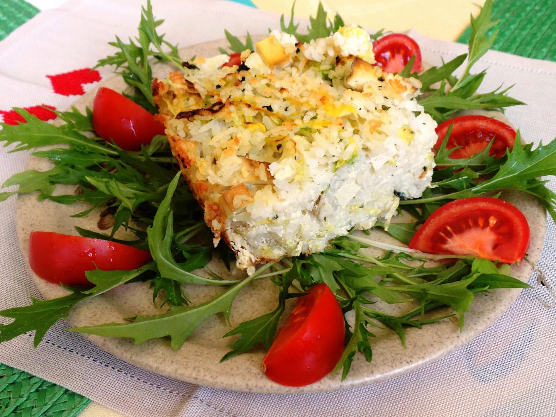 Kapusta zapečená s rýží a tofu recept