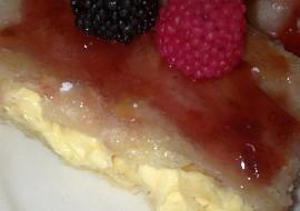 Žloutkové řezy z listového těsta s dia sladidlem a dia marmeládou ...