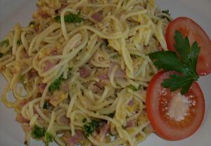 Špagety Carbonara III.