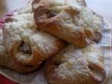 Jablečné šátečky s drobenkou  s návodem pro začátečníky recept ...