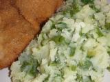 Šťouchané brambory s mangoldem recept