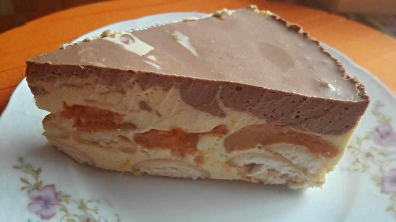 Želatinový dortík recept