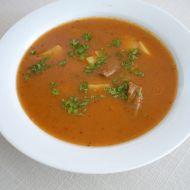 Skopová gulášová polévka s bramborem recept