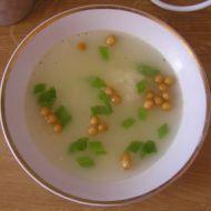 Česneková polévka se sýrem recept