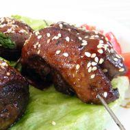 Grilovaná kachní prsa v sezamu recept