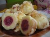 Ovocné tvarohové knedlíky recept