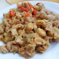 Čína ze sojového masa a cukety recept