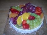 Ovocný dort recept