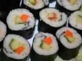 Sushi pro vegetariány a ne-konzumenty syrového masa recept ...