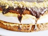 Karamelovo-penova torta recept