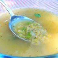 Výborná polévka z červené čočky recept