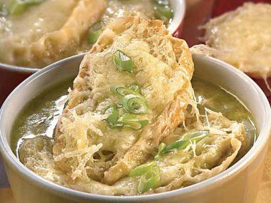 Cibulová polévka podle babičky