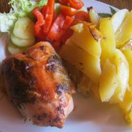Citronové kořeněné kuře recept