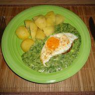 Špenát recept