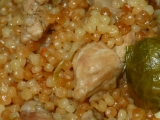 Kapustičky s kuřecím masem v tarhoni recept