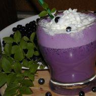 Borůvkový jogurtový koktejl recept