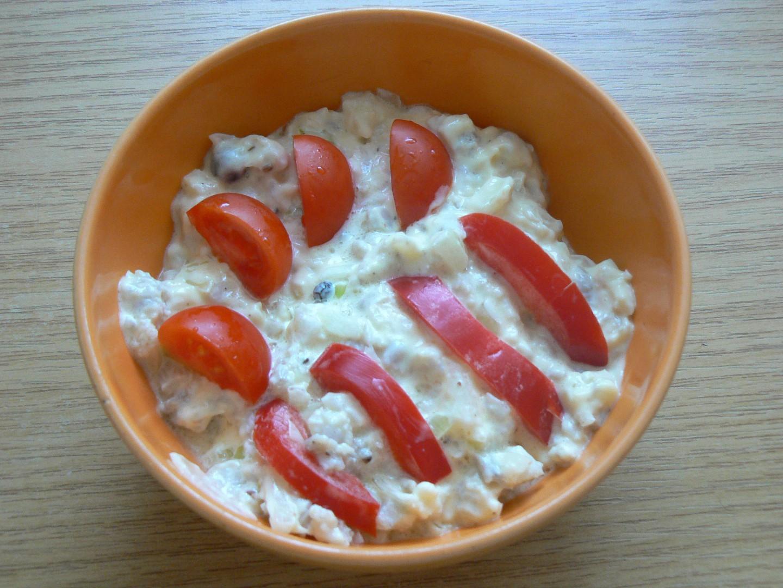 Základní rybí salát recept