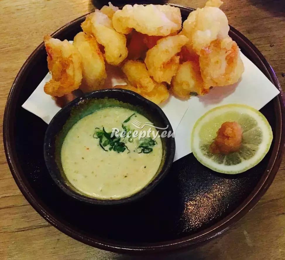 Smažené krevety s arašídy recept  mořské plody