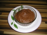 Chocolate mousse recept