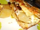 Francouzské brambory sypané sýrem recept