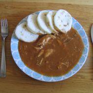Naše kuře na paprice recept