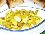 Tofu s fazolkami recept