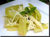 Mangold s máslem a sýrem recept