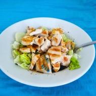 Kuřecí salát na zázvoru recept
