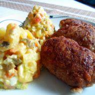Řízky z mletého masa recept
