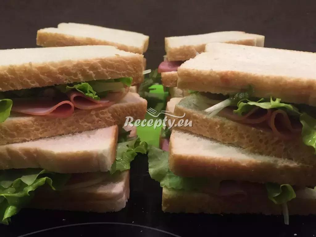 Sandwich s uzeným lososem recept  topinky, toasty, sendviče ...