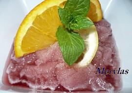Ledová tříšť z ovocných nápojů  dia recept