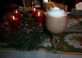 Čokoládovo  pomerančová pěna do skleniček recept