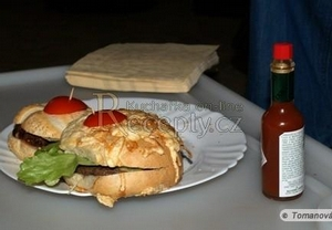 Americký hamburger
