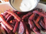 Hranolky z červené řepy recept