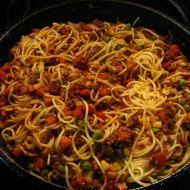 Mexické špagety recept