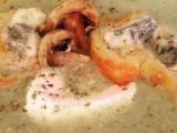 Cuketovo-žampionový krém s gorgonzolou recept