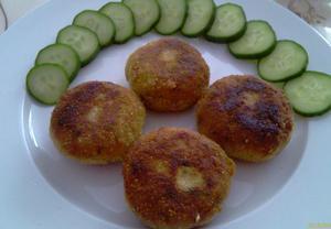 Vegetariánské karbanátky (rýžovo-zeleninové)