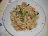 Rizoto s čínskou zeleninou recept