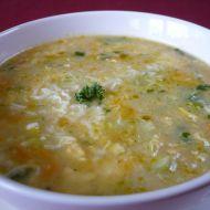 Jarní polévka s vejcem recept