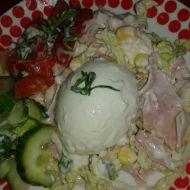Míchaný salát z čínského zelí recept