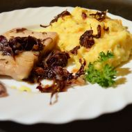 Jemná bramborovo-mrkvová kaše s petrželkou recept