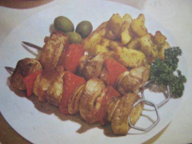 Královské ražničí s bramborovou kaší