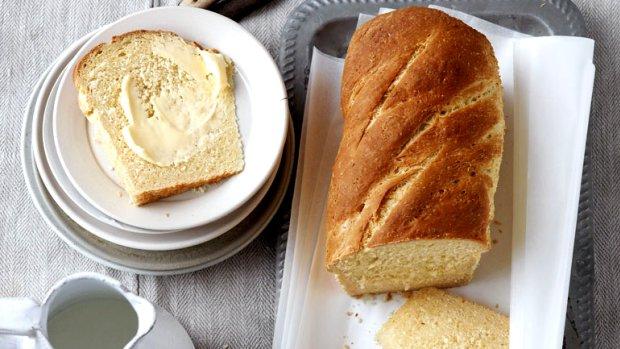 Kokosový chléb se zázvorem
