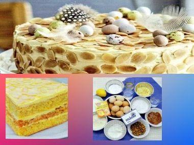 Španělský velikonoční dort