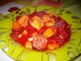 Guláš z červené řepy recept