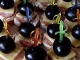 Jednohubky s hroznovým vínem recept