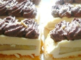 Řezy s vanilkovým krémem recept