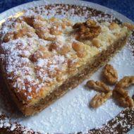 Koláč s ořechovou náplní recept