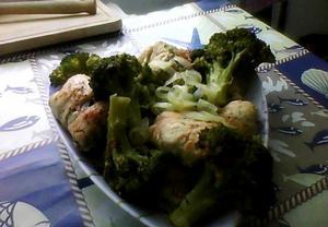 Kuřecí roládky s brokolicí